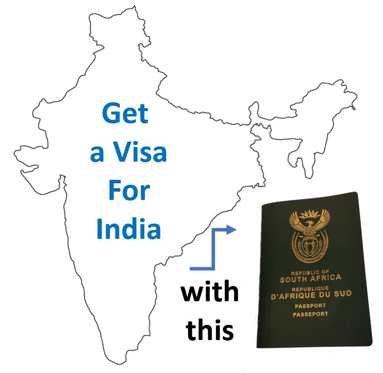 India Visa Application Process for South Africans