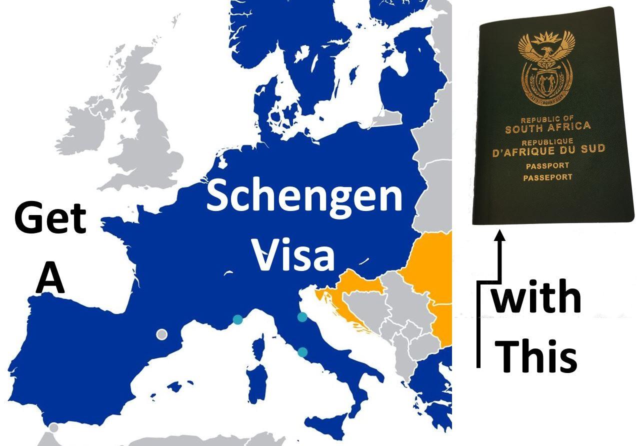 Schengen Visa Requirements for South Africans